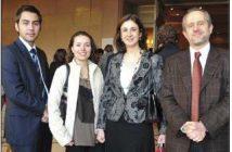 Walter Núñez, Ileana Sánchez, Paula Belmonte y Alfonso Cruz